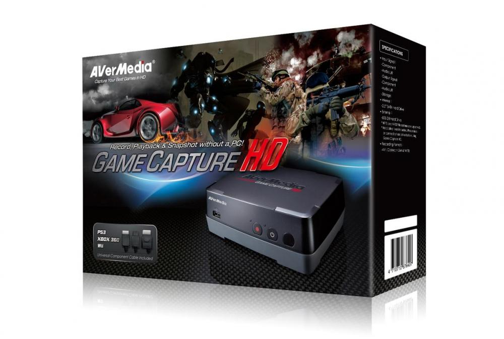 AVerMedia Game Capture HD - review & giveaway   Gaming