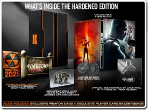 Black Ops 2 - What's in the Hardened Edition?