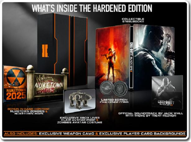 Black Ops 2 - Hardened edition (what's in the box)
