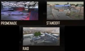Call of Duty: Black Ops 2 - Promenade, Standoff & Raid multiplayer maps