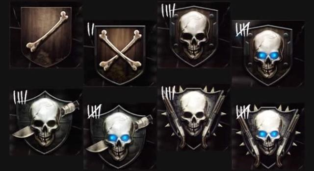 Call of Duty: Black Ops 2 Zombies - Official Rank Emblems