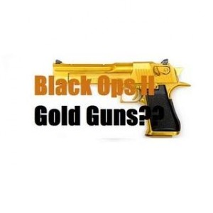 Black Ops 2 - how to unlock gold guns (confirmed)