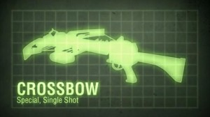 The crossbow returns for Black Ops 2