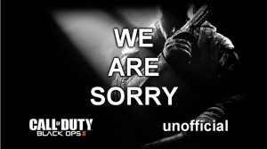 Black Ops 2: Treyarch say sorry