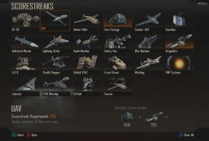 Call of Duty Black Ops 2 - score streaks