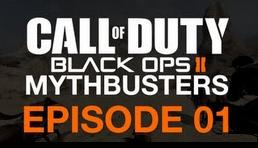 Call of Duty Black Ops 2 mythbusters
