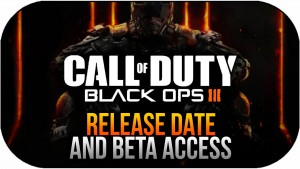 Call of Duty Black Ops III - how to get Beta Codes