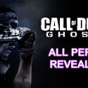 COD: Ghosts – Full Perk List