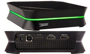 Hauppauge HD PVR 2 Gaming Edition has HDMI in & out