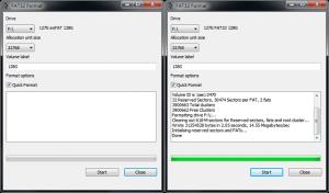 AVerMedia LGP PC free mode - SD card formatting