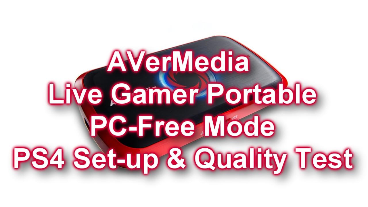 AVerMedia LGP PS4 PC Free Mode Recording Test [thumb]
