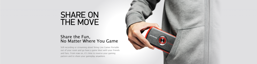 The AVerMedia Live Gamer Portable: a smidge bigger than an iPhone