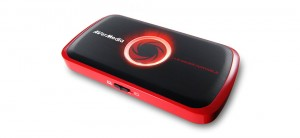 AVerMedia Live Gamer Portable (C875) - official photos [illuminated logo red]