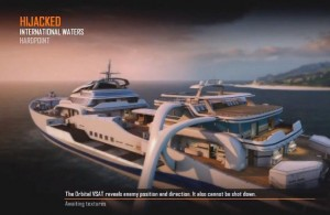 Call of Duty: Black Ops 2 - Hijacked Multiplayer map