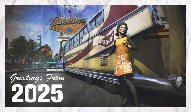 Call of Duty: Black Ops 2 - Nuketown 2025 multiplayer map