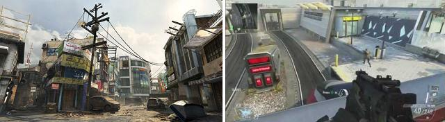 Call of Duty: Black Ops 2 - Overflow & Express multiplayer maps