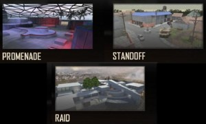 Call of Duty: Black Ops 2 - Promenade, Standoff & Raid multiplayer maps