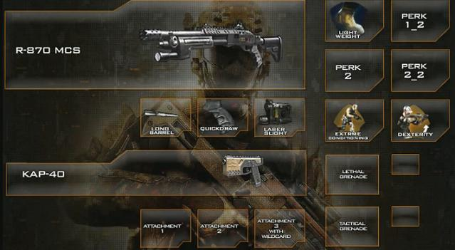 Black Ops 2 - best shotgun class set-up