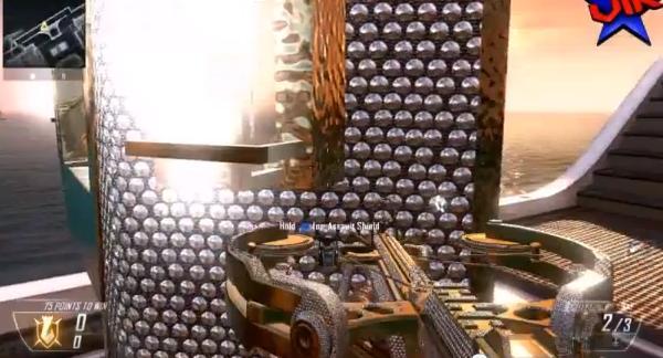 Black Ops 2: the diamond riot shield & crossbow