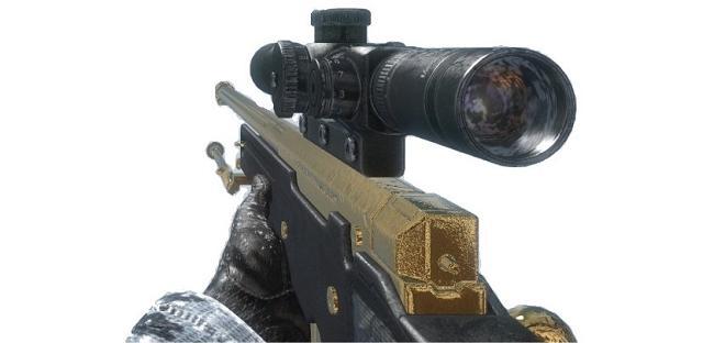 Black Ops 2 - sniper gameplay - gold L96