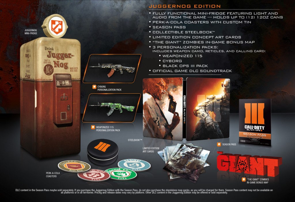 Black Ops III (3) Juggernog Edition