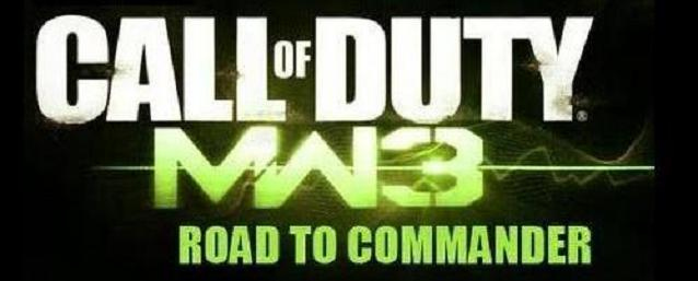 COD - MW3 - RTC (Road To Commander)