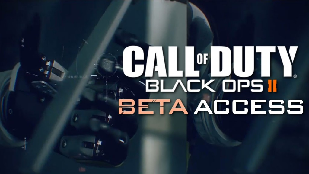Call of Duty Black Ops III - PreOrder for Beta Codes