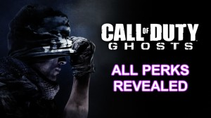 Call of Duty Ghosts - All Perks Revealed