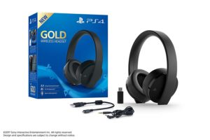 Gold Wireless PS4 Surround Sound Headset