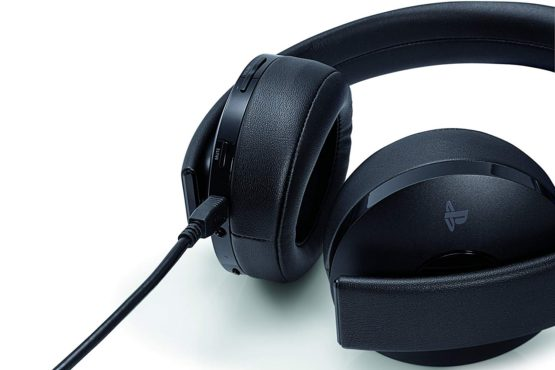 Gold Wireless PS4 Surround Sound Headset