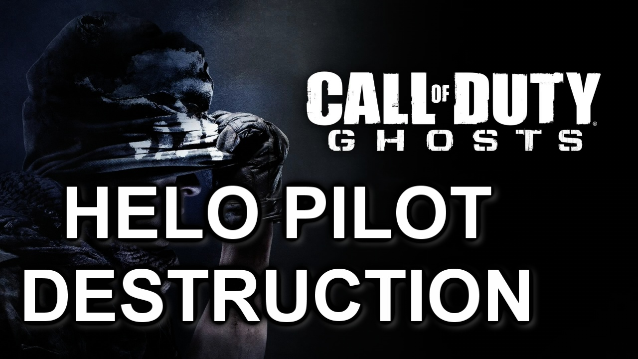 HELO PILOT MASSACRE - COD GHOSTS GAMEPLAY