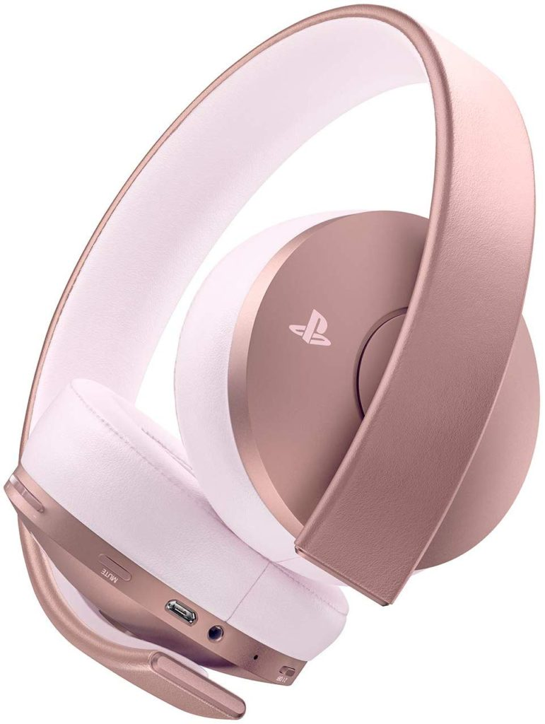Rose Gold PS4 Gaming Headset