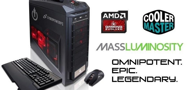 Win a gaming pc - Mass Luminosity giveaway